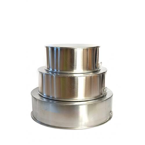 3 Tier Round Aluminium Cake Tin Baking Pan 8 10 12 Inch