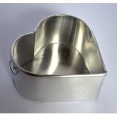 Heart Shape Aluminium Cake Tin Baking Pan 6 inch