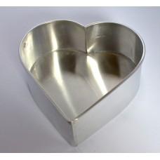 Heart Shape Aluminium Cake Tin Baking Pan 8 inch