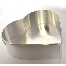 Heart Shape Aluminium Cake Tin Baking Pan 10 inch